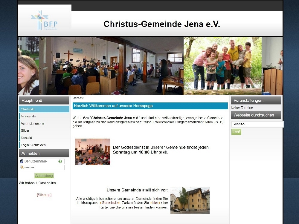 Version 1 ab 01/2008 (Joomla 1.5)